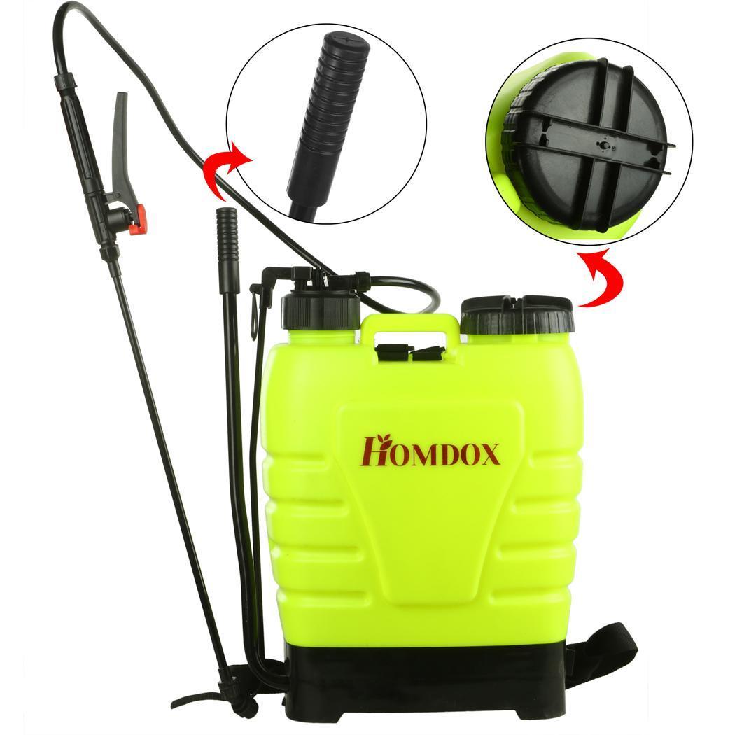 Commercial Backpack Sprayer 4 Gallon Weed Killer Pesticide
